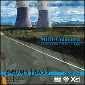 サンプリングCD/CD-ROM「MIDI UNLIMITED1 DRUM | BASS」
