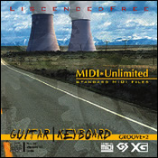 サンプリングCD/CD-ROM「MIDI UNLIMITED GUITAR | KEYBOARD」
