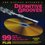 サンプリングCD「DEFINITIVE GROOVES」